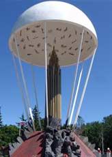 Памятник 6-й роте в Пскове